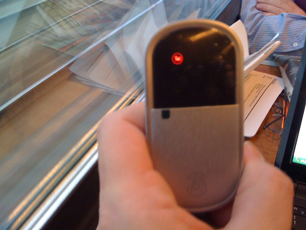 No signal on Mifi on Voyager Train