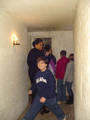 Visiting the Jail Cells