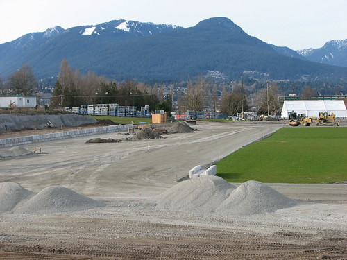 The view from the south endzone