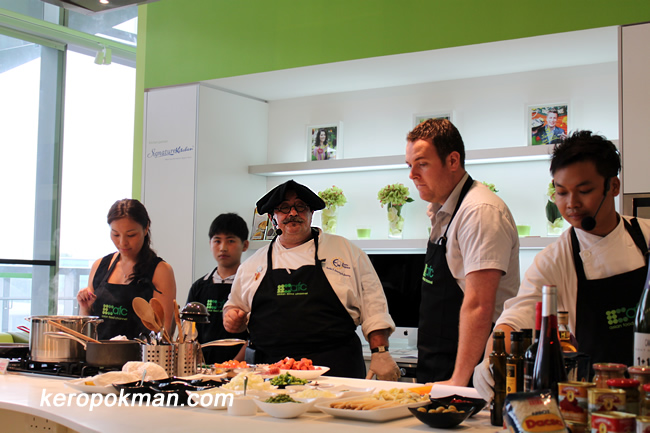Chef Joseba Jimenez de Jimenez & participants