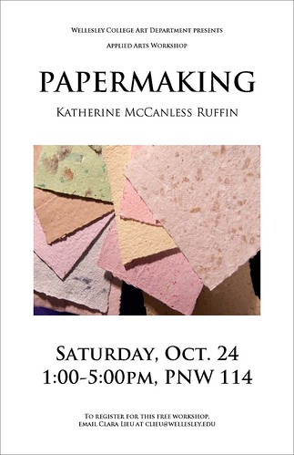 Papermaking Poster
