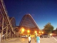 Cedar Point - Gemini at Night