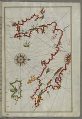 Illuminated Manuscript The Peloponnese (Morea,...