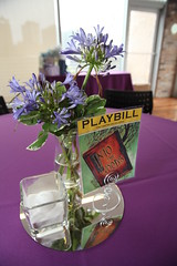 Broadway musical themed centerpieces