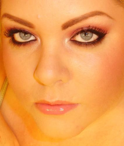 MAC Star Violet with MAC Passionate eyeshadow