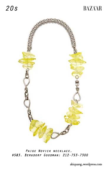 Paige Novick necklace, $583