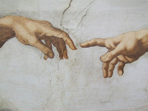 The Creation Michelangelo Vatican Museums Italy - Creative Commons by gnuckx