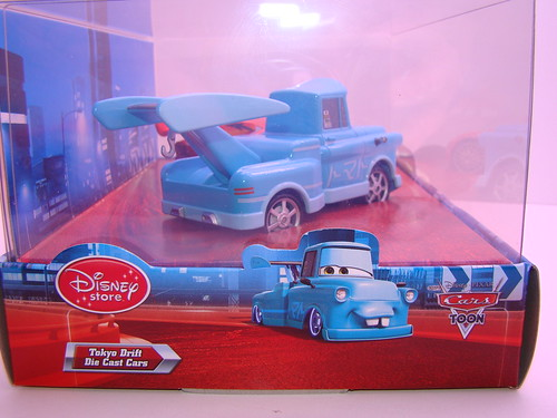 disney store CARS drift mater and dragon mcqueen (1)