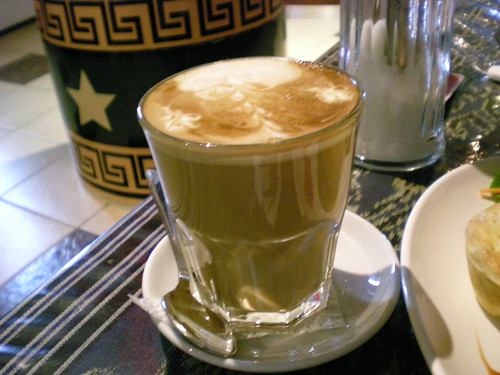Deli Cafe coffee latte