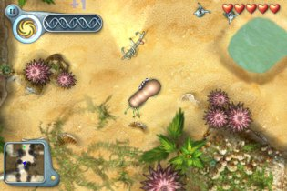 OS X Reality - Spore Creatures for iPhone impressions