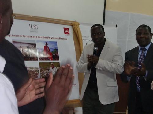 Hon Kuti officially launching IBLI