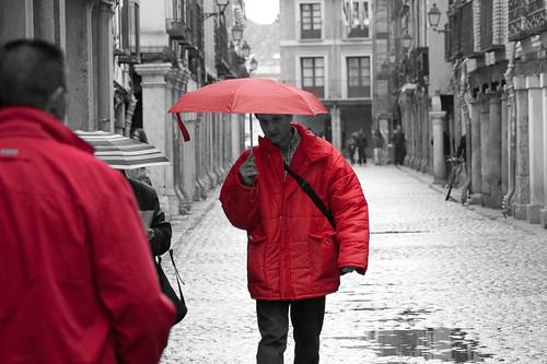 Miradas al rojo