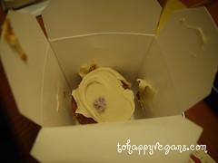 Babycakes carrot cupcake