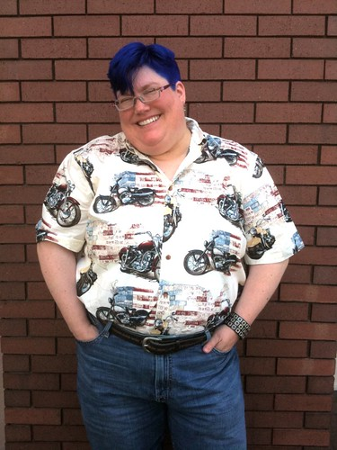 Motorcycle Shirt of Awesome