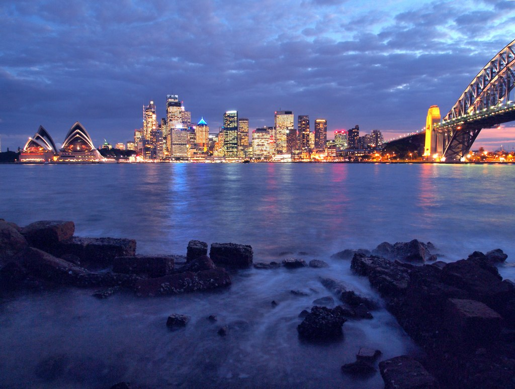 Sydney from Milson's Point