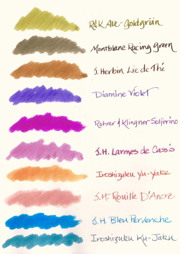 Summer Ink Palette 2010