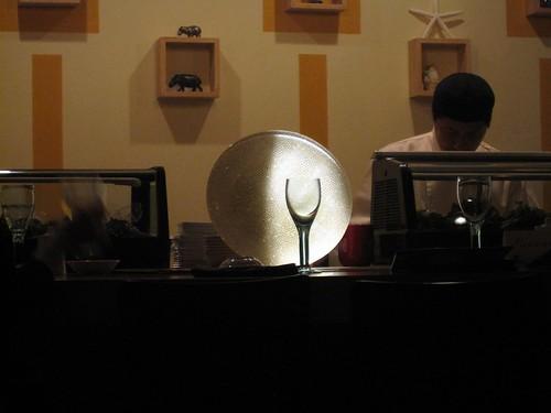 taka sushi cafe - artsy huh? by foodiebuddha.