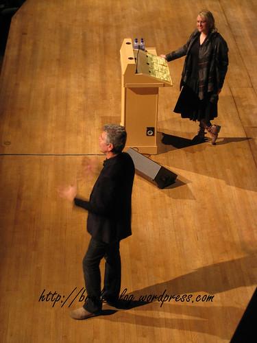 Anthony Bourdain and Julie Van Rosendaal