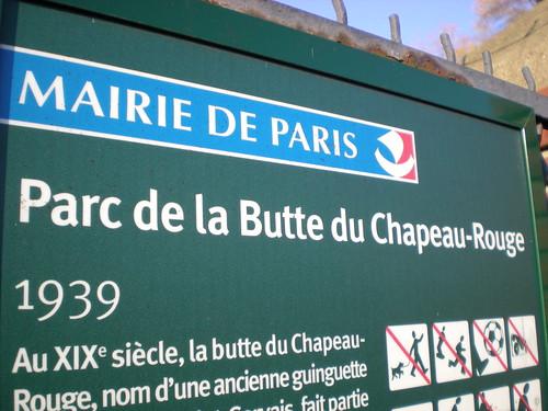 Parc de la Butte du Chapeau-Rouge
