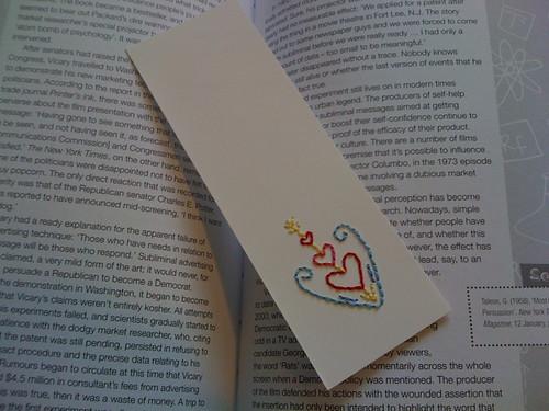 Cupid Bookmark