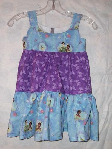 Princess and the Frog Dress