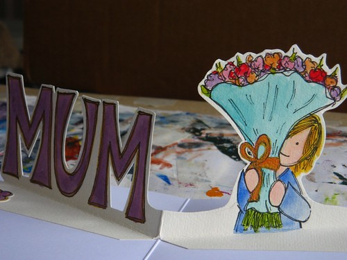 mothers day card for my mum 2010 - detail