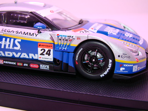 EBBRO HIS ADVAN KONDO GT-R SUPER GT 500 2009 RD.7 FUJI (5)