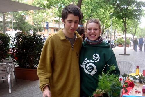 La Pilar i el verd