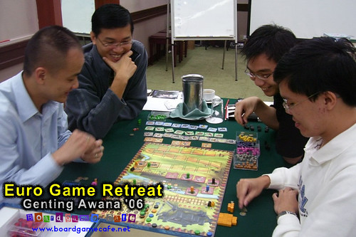 Retreat Day 1 - Caylus