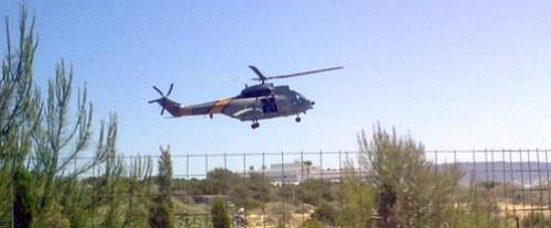 Helicóptero del SAR