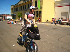 Totcycle at Fiets of parenthood PDX