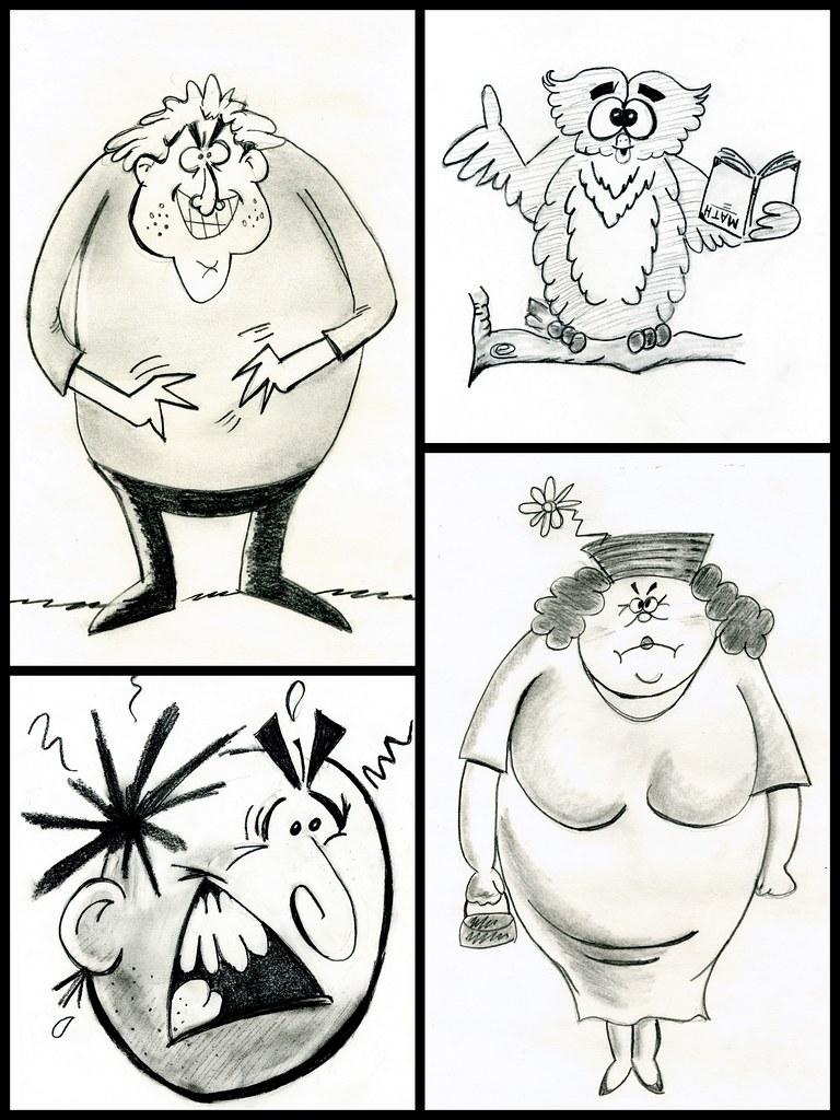 Some Cartoon Drawings