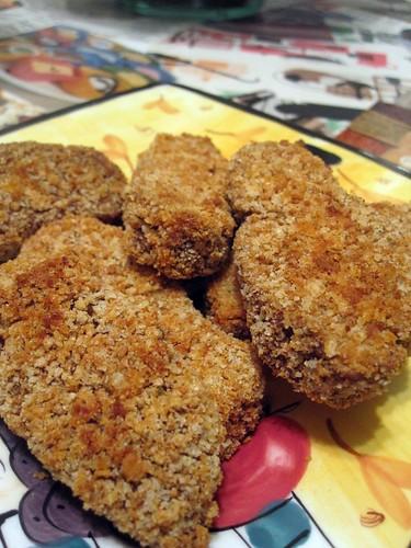 chickpea baked seitan