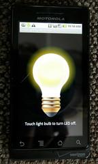 LED Flashlight on Droid