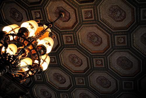 Brown Hotel Ceiling