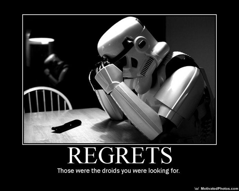 Regrets-Droids
