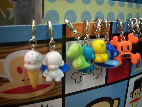 munny world zipper pulls kidrobot