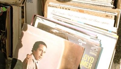 flea market vinyl