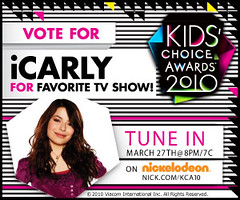 VOTE!  Kids Choice Awards