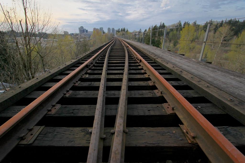 Wilburton trestle track