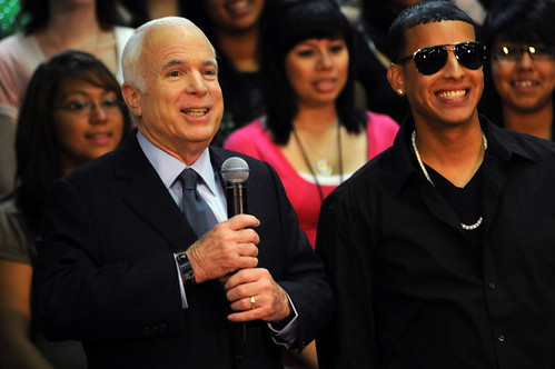 Daddy Yankee John McCain by you.