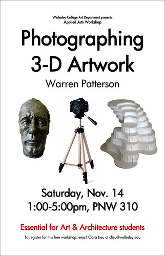 Photographing 3-D Artwork Poster
