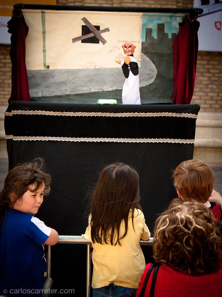 Marionetas en San Agustín