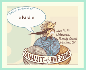 Summit of Awesome Featured Speaker -- that's me!