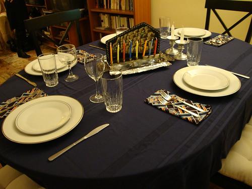 Chanukah Dinner 2009