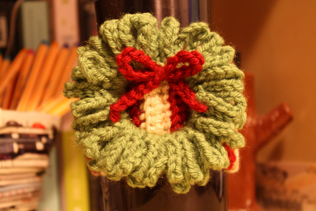 Christmas Wreath Coffee Sleeve