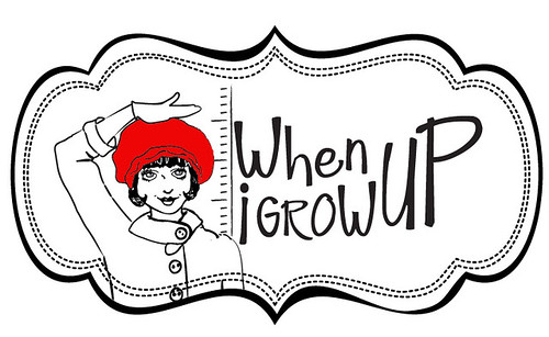 when i grow up logo red