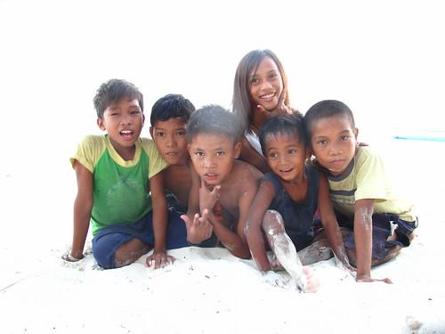 Malapascua kids, Philippines
