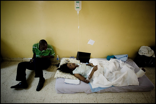 haiti earthquake - hospital