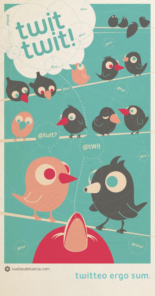 twitting...